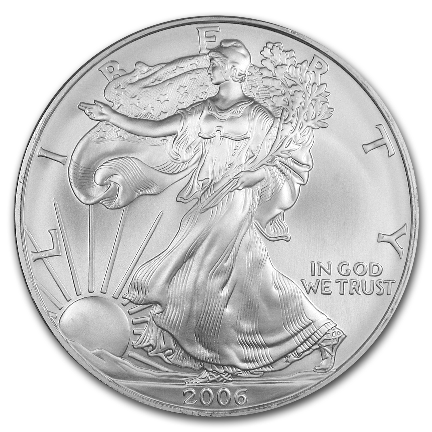 2006 Silver American Eagle 500-Coin Monster Box (Sealed)